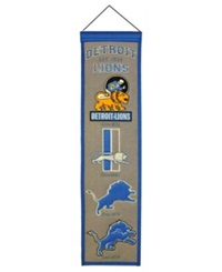 Winning Streak Detroit Lions Heritage Banner Team Color