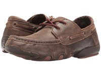 Roper Lacee Brown Leather Women's Lace Up Casual Shoes