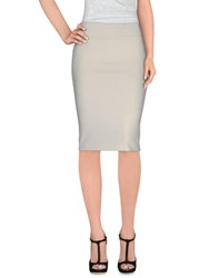 Antonio Fusco Skirts Knee Length Skirts Women Ivory