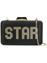 Kotur 'Star' Clutch Black