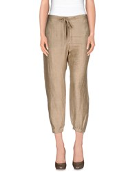 Liviana Conti Trousers Casual Trousers Women Beige