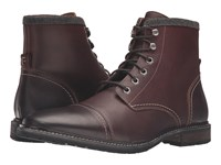 Florsheim Indie Cap Toe Boot Chestnut Smooth Men's Lace Up Boots Brown