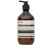 Aesop Reverence Aromatique Hand Balm Brown