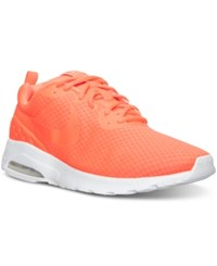 Nike Men's Air Max Motion Lw Running Sneakers From Finish Line Total Crimson Total Crims