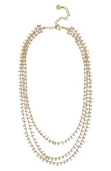 Baublebar Beaded Chain Necklace Gold