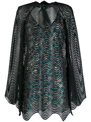 Marco De Vincenzo Layered Mini Dress Black