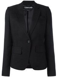 Tom Ford Fitted Blazer Black