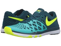 Nike Train Speed 4 Hyper Jade Midnight Turquoise Black Volt Men's Shoes Blue
