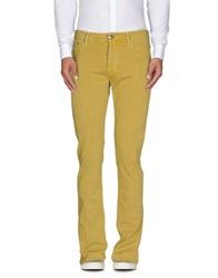 Jacob Cohen Jacob Coh N Trousers Casual Trousers Men Yellow