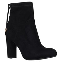 Carvela Pacey Block Heeled Ankle Boots Black