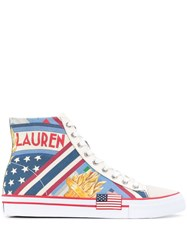 Ralph Lauren Solomon Ii High Top Sneakers 60