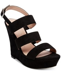 Madden Girl Blenda Platform Wedge Sandals Black