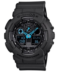 G Shock Men's Analog Digital Dark Gray Resin Strap Watch 51X55mm Ga100c 8A
