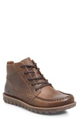 Born B Rn Gilden Moc Toe Boot Brown Leather