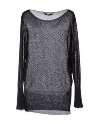 Daniele Alessandrini Long Sleeve Sweaters Black