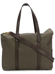Mismo Ms Mega Tote Bag Green