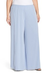Plus Size Women's Alex Evenings Wide Leg Pants