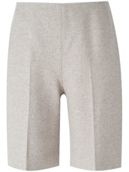 Carven Tailored Shorts Nude And Neutrals