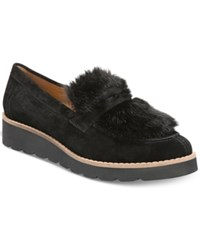 Franco Sarto Harriet Wedge Loafers Women's Shoes Black