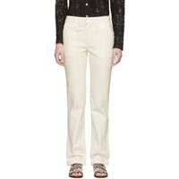 Chloe White Slim Fit Jeans