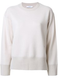 Astraet Crew Neck Jumper Brown