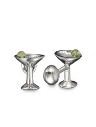 Robin Rotenier Martini Glass Cuff Links