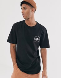 Brooklyn Supply Co. Co Oversized T Shirt With Logo In Black