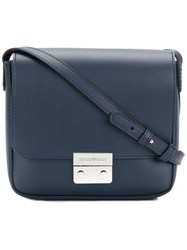 Emporio Armani Mini Shoulder Bag Blue