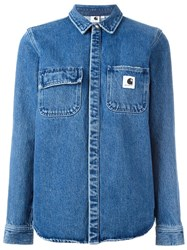 Carhartt Denim Jacket Blue