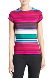 Ted Baker Women's London Blushing Stripe Fitted Tee