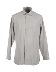 Viyella Long Sleeve Shirts Beige