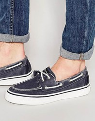 Sperry Topsider Bahama Boat Shoes Navy Blue