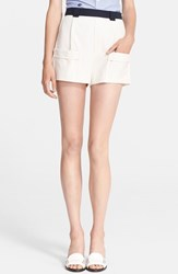 Band Of Outsiders Women's Contrast Waist Pocket Shorts