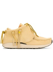 Visvim Red Deer Sneakers Yellow And Orange