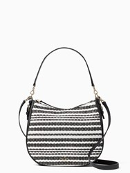 Kate Spade Cobble Hill Straw Mylie Black Cement