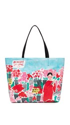Kate Spade Rose Scene Hallie Tote Multi