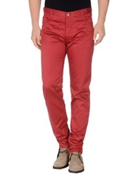 Oliver Spencer Casual Pants Brick Red