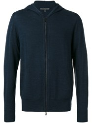 John Varvatos Hooded Sweater Blue