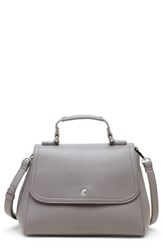 Sole Society Hingi Faux Leather Satchel Black