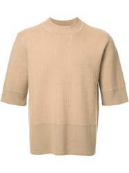 Craig Green Boiled Shortsleeved Sweater Brown