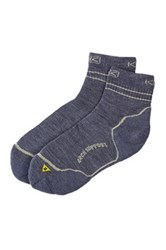 Keen Bellingham Quarter Lite Socks Blue