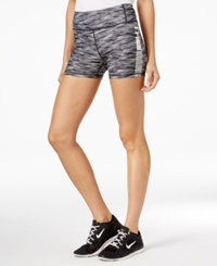 Tommy Hilfiger Sport Space Dyed Shorts A Macy's Exclusive Black Spacedye