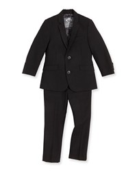 Appaman Boys' Two Piece Mod Suit Black 2T 14