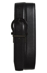 Men's Salvatore Ferragamo Reversible Calfskin Leather Belt