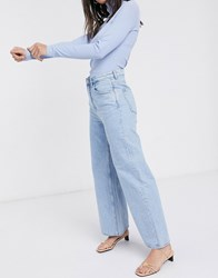 Weekday Ace Organic Cotton Air Blue In Summer Blue