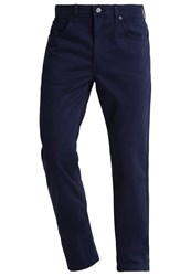 Lee Brooklyn Straight Trousers French Navy Dark Blue