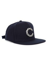 Crooks And Castles Thuxury Navy Chain Embellished Twill Cap