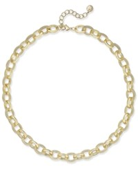 Charter Club Gold Tone Pave Link Statement Necklace Only At Macy's