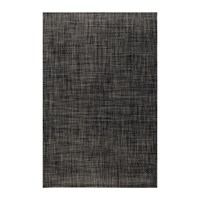 Chilewich Basketweave Rug Carbon Black