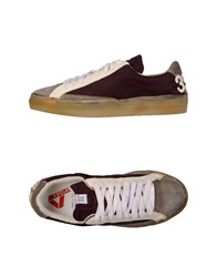 Cycle Low Tops And Trainers Maroon